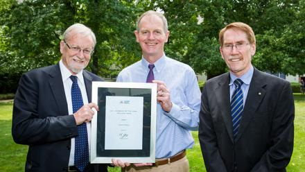 Businessman and philanthropist Graham Tuckwell has been honoured in the ANU 2015 Alumni Awards.