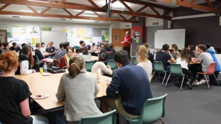 The How Change Happens Discussion Series culminated in an inter-year-group discussion and workshop