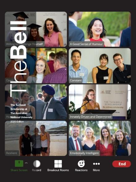 Tuckwell Scholarship The Bell Magazine 2020 Edition