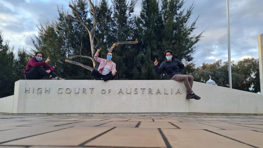 scholars at the high court of australia